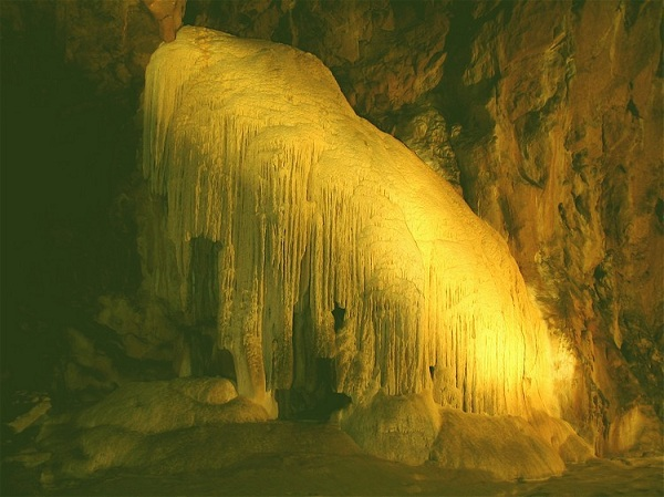 photo du Mammouth grotte de Lombrives